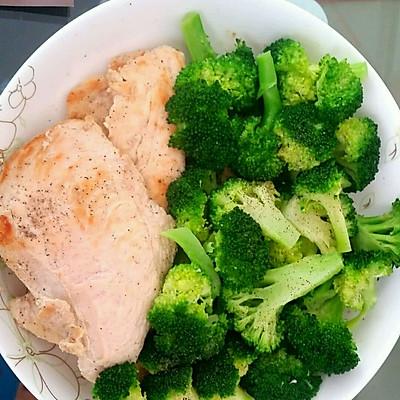 麦吉减肥之煎鸡胸肉