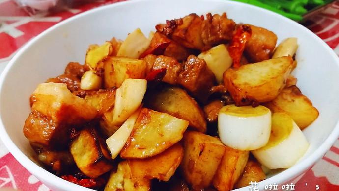 新派川菜--干煸红烧肉