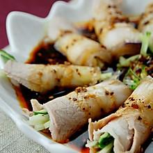 最上瘾的绝味川菜——蒜泥白肉卷
