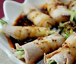 最上瘾的绝味川菜——蒜泥白肉卷的做法