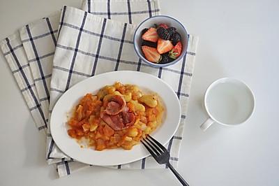 红薯版本的意大利Gnocchi你吃过吗?