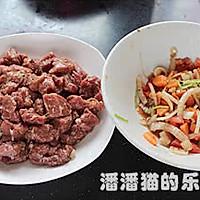 黑蒜子牛肉粒的做法图解7