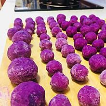 紫薯球&芝士夹心紫薯球