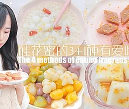 桂花蜜的3+1种有爱吃法「厨娘物语」的做法