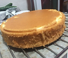8寸蛋糕底胚基础做法的做法