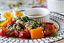 超模藜麦综合沙拉#急速早餐#的做法