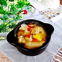 #冬天就要吃火锅#椰肉玉米排骨煲