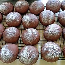 超级松软的黑眼豆豆(巧克力软欧包)