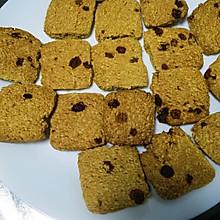 燕麦红糖提子饼干