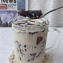 #宅家厨艺 全面来电#自制一点点咖啡冻焦糖奶茶,好喝到尖叫