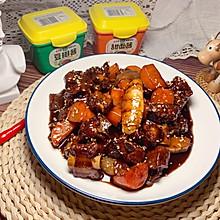 刘小厨的家常菜:酱香红烧排骨