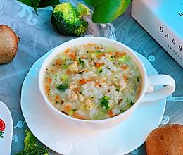 营养暖胃的香菇胡萝卜鸡肉粥的做法