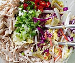 鸡胸肉拌娃娃菜的做法