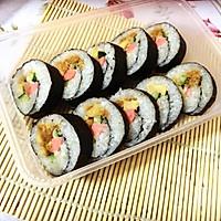 【寿司系列】基础:简易寿司卷。的做法图解3