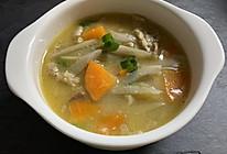 低热量少油日式猪肉味增汤(1人份)的做法