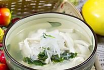 豆腐萝卜丝汤的做法