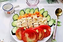 #夏日开胃餐#鸡胸肉蔬菜沙拉的做法