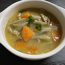 低热量少油日式猪肉味增汤(1人份)