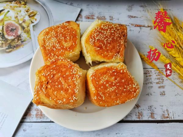 香脆柔软的蜂蜜脆底面包