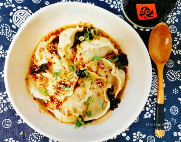 超爆好吃的酸汤水饺,色香味俱全的做法