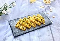 快手营养早餐:芝士甜玉米鸡蛋饼的做法