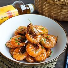 上海本帮油爆河虾#金龙鱼外婆乡小榨菜籽油 最强家乡菜#