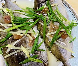 潮汕蒸咸梅鲳鱼的做法