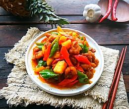 #母亲节,给妈妈做道菜#菠萝咕噜肉的做法