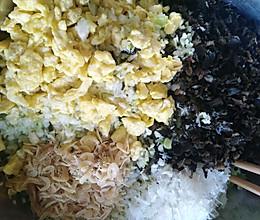 洋白菜素包子的做法