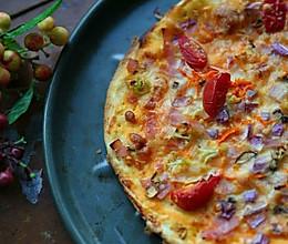 意式薄皮脆底PIZZA披萨的做法