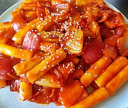 韩式辣炒年糕的做法