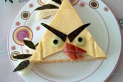 愤怒的小鸟之黄色的小鸟