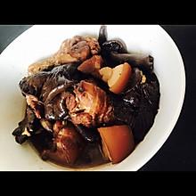 山菇猪肉勾鸡