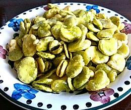 酥炸蚕豆瓣的做法