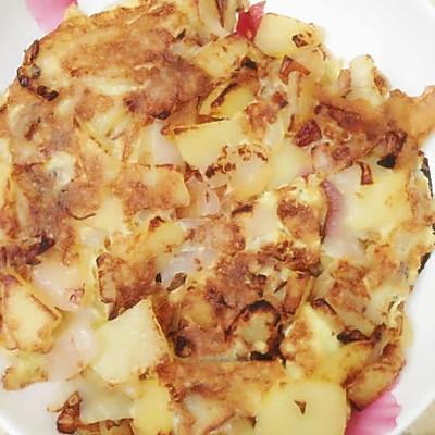 西班牙土豆鸡蛋饼