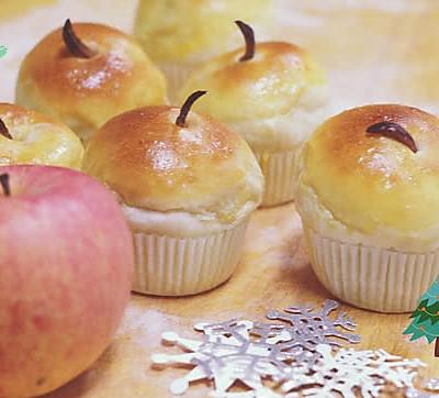 你是我的小呀小苹果——苹果小面包