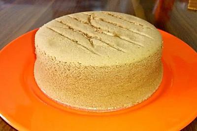 戚风蛋糕6寸烘烤