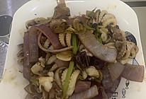 洋葱炒八爪鱼仔的做法