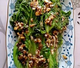 蚝油蒜香生菜的做法