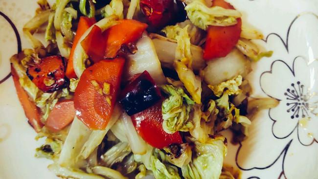 素食-醋熘白菜的做法