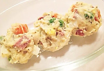 土豆沙拉小清新的做法