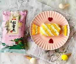 蛋包饭也可以萌萌哒,糖果的造型超吸睛!的做法