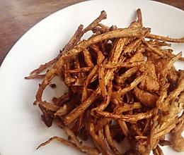 干煸茶树菇(东北版)的做法