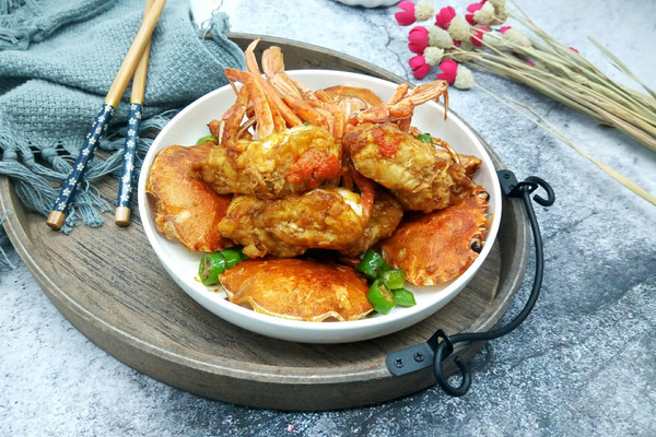 吮指美味香辣蟹#中粮我买,我是大美人#的做法