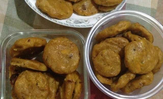 红枣南瓜玉米小饼