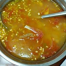 番茄滑肉汤