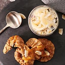 早餐打卡DAY 2:肉桂松饼+酸奶水果麦片