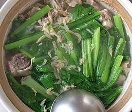 春菜排骨煲的做法