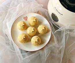 黄金杂粮肉松饭团的做法