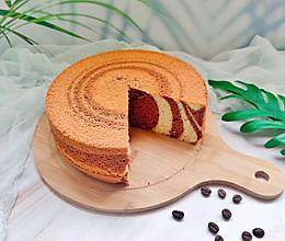 双重美味的巧克力斑马戚风蛋糕的做法